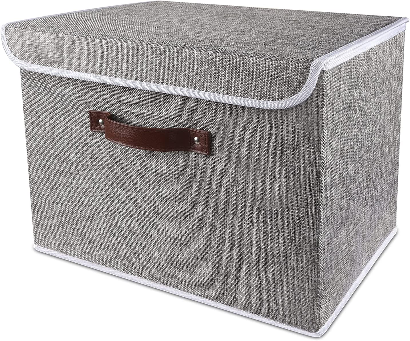 coastal rose Foldable Storage Bins Decorative Manufacturer regenerated product Max 66% OFF Fabric with S Lids