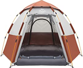 Toogh 3-4 Person Camping Tent Backpacking Tents Hexagon...