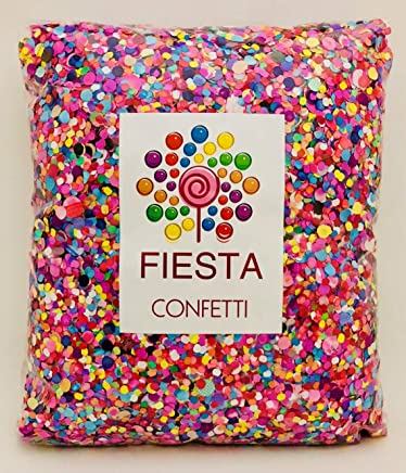 Fiesta Confetti.Value Mexican Colorful Paper Confetti. Jumbo Bag .95lb/425gr.