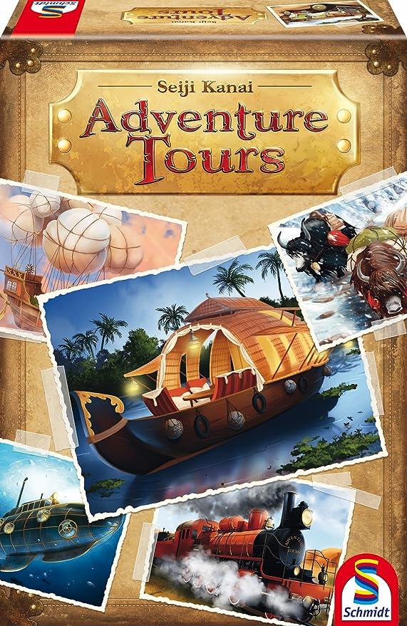 Schmidt Spiele Adventure Tours Amazon De Spielzeug