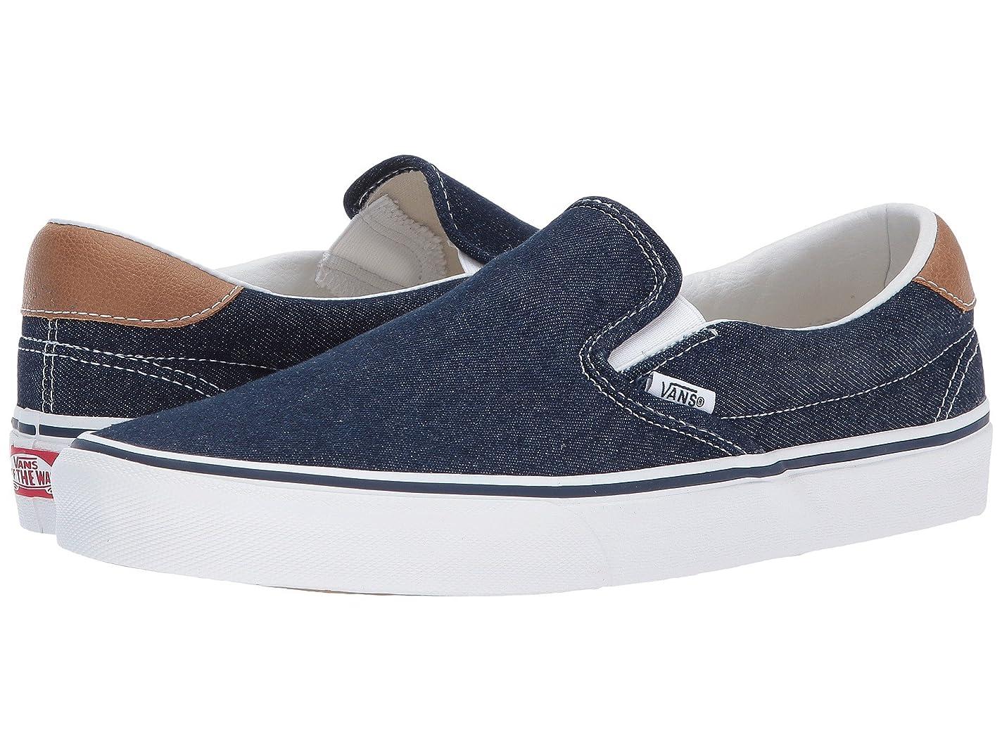 良さ亜熱帯家具(バンズ) VANS メンズスニーカー?靴 Slip-On 59 (Denim C&L) Dress Blues/Chipmunk Men's 5.5, Women's 7 (23.5cm(レディース24cm)) Medium