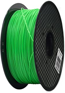 Aspectek 3D Printer Filament 1.75mm ABS Filament 2.2lbs - Jade Green - Compatible with Printrbot, MakerBot, MakerGear and Many Other Printers