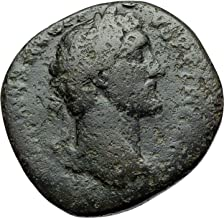 1000 IT ANTONINUS PIUS Authentic Ancient Sestertius Rome Sestertius Good