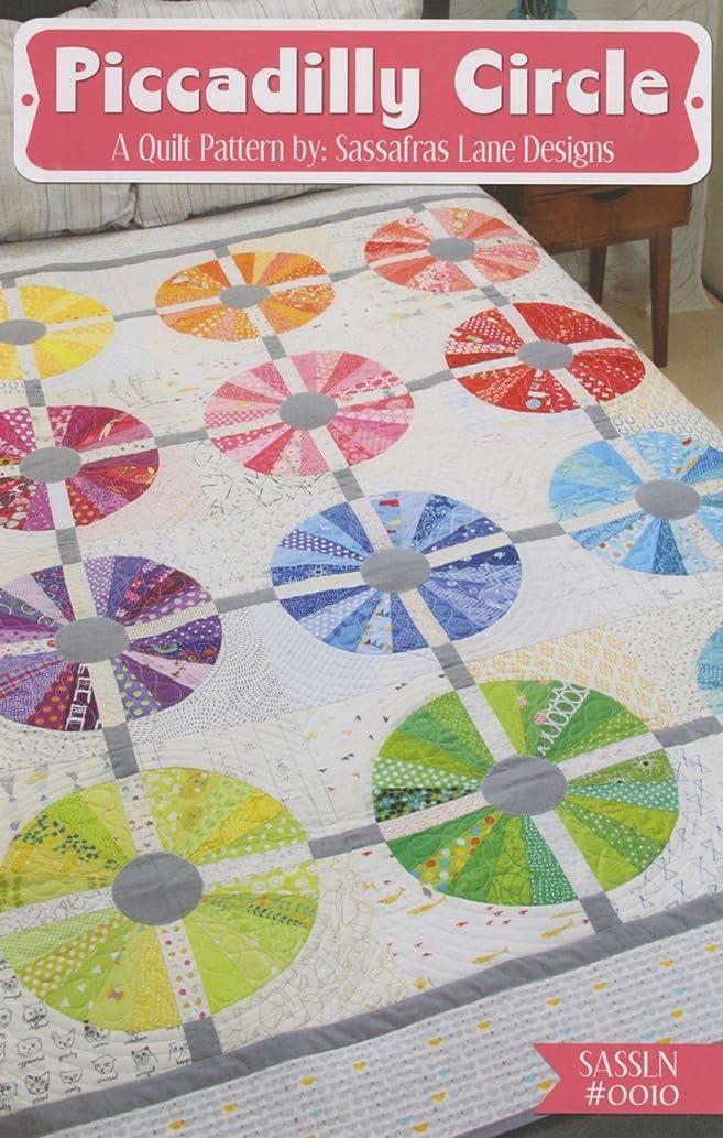 Piccadilly Circle Quilt Pattern by Sassafras Lane Designs 55