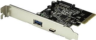 StarTech.com PEXUSB311AC2 - Tarjeta PCI Express de 2 Puertos USB 3.1, Color Negro y Plata
