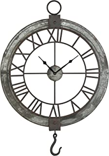 Elk Lighting wall clock, Brown