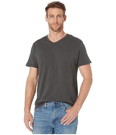 Alternative Slub Keeper V-Neck (Washed Black) Men