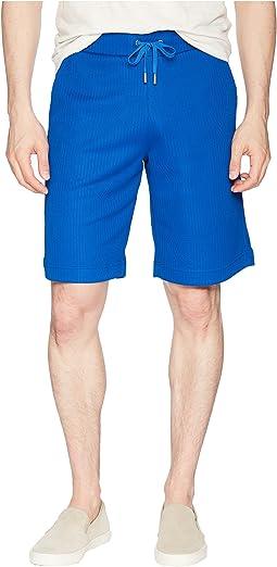 Versace Jeans Logo Texture Shorts