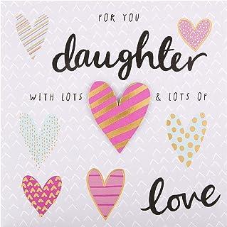 Birthday Card for Daughter from Hallmark - 3D Heart Design