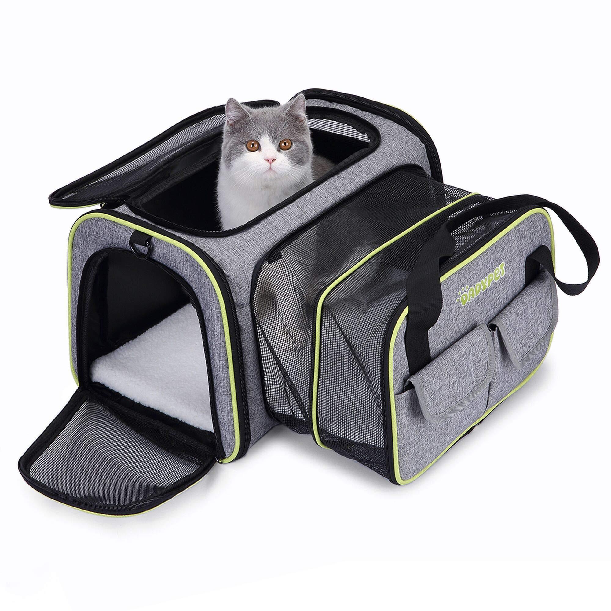 DADYPET Transportin Gato, Transportin Perro Pequeño Mascotas ...