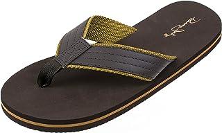 Panama Jack mens CASUALFLIP Flip-flop Brown Size: