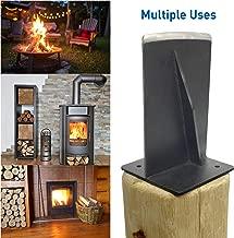 EasyGoProducts EGP-WSPL-001 Jack Jr-The Firewood Kindling Tool – Wood Log Splitter – Bl