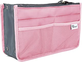 Periea Handbag Organiser - Chelsy - 28 Colours Available - Small, Medium Large (Large, Pink)