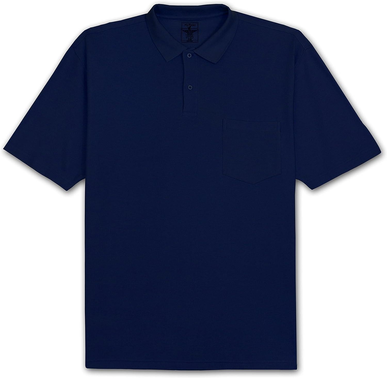 FOXFIRE Solid Pocket Pique Polo Shirt