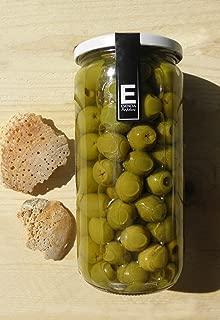 Aceituna verde Manzanilla Extra sin hueso Esencia Andalusí. Categoria Gourmet 700 grs