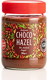 Belgian Choco Hazel with Stevia 12 oz (350g) - No Added Sugar - A healthy & delicious Option For Those Who Love Chocolate ...