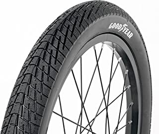 Goodyear Folding Bead Bicycle Tire, 18 x 1.5/2.125, Black