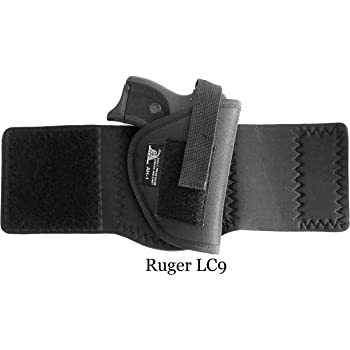 DTOM AH1 Neoprene and Nylon Ankle Holster for Glk 26/27 / 29/30 / 40, Ruger LC9 and and Many Others