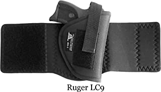 DTOM AH1 Neoprene and Nylon Ankle Holster for Glock 26 / 27 / 29 / 30 / 40, Ruger LC9 and and many others