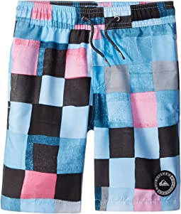 Resin Check Volley Shorts (Toddler/Little Kids)