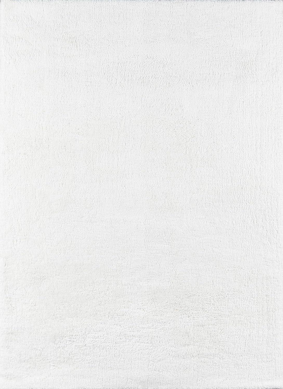 Momeni Velvet Shag Max 59% OFF Polyester Area X White 9'6