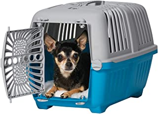 Midwest Spree Travel Pet Carrier | Hard-Sided Pet Kennel Ideal for Toy Dog Breeds, Small Cats & Small Animals | Dog Carrie...
