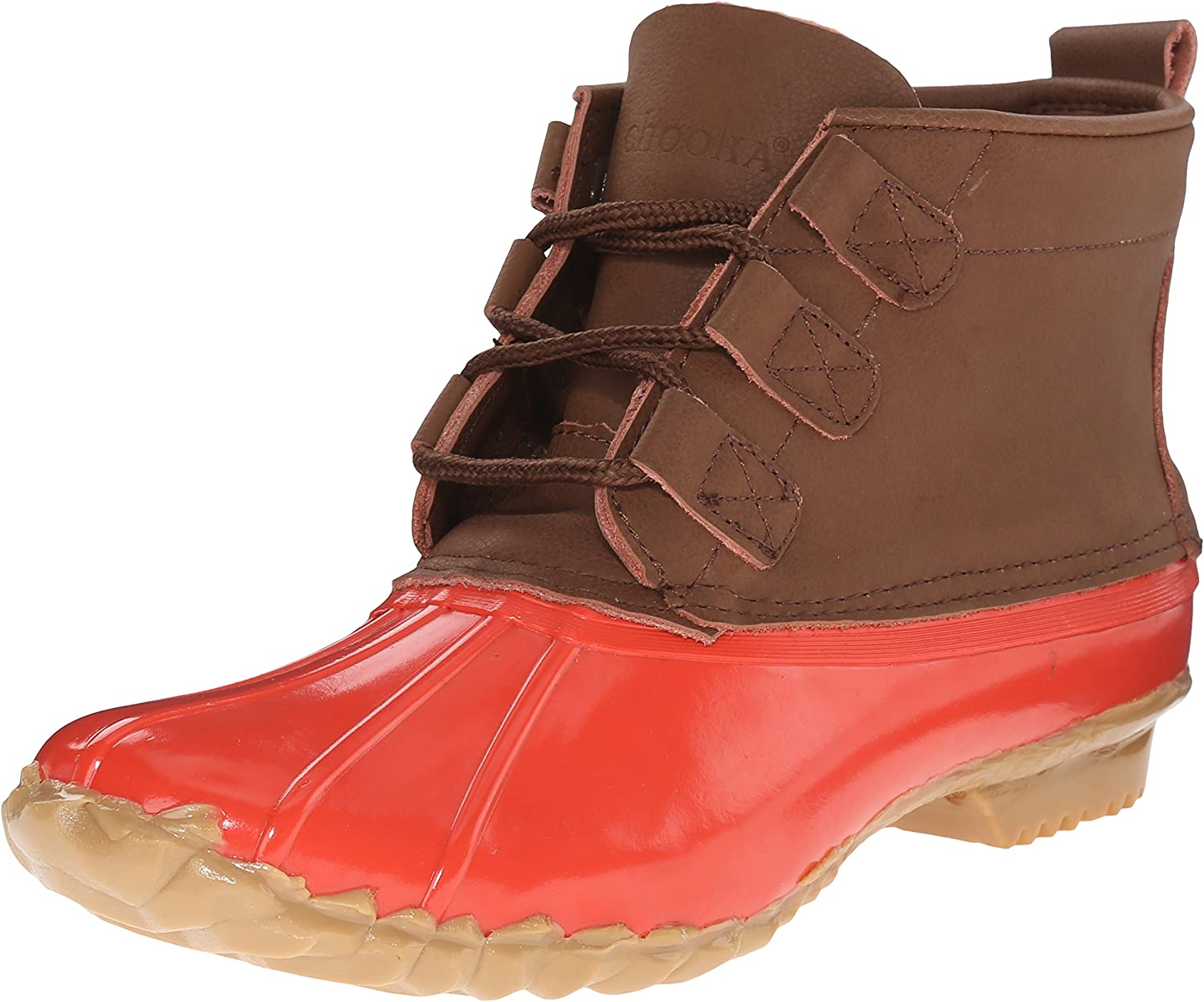 Chooka Women's Low Duck Bootie Rain Boot