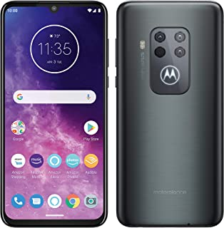 Motorola One Zoom z głośnomówiącym Alexa Dual SIM smartfon (wyświetlacz 16,4 cala FHD+, system kamer Quad 128 GB/4 GB, And...