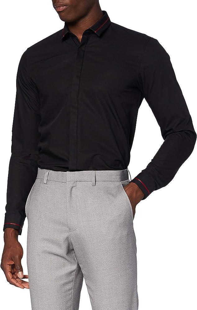 Hugo boss ,etran, camicia per  uomo 100% cotone 50431382