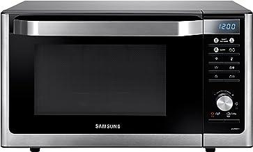 Samsung MC32F606TCT - Horno microondas sencillos, 32 L, 1500 W, color plateado