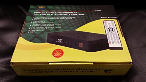wholesale Sunkey outlet online sale Digital online sale to Analog Broadcast Converter with Remote Control Hdmi and USB and RCA plugs. online