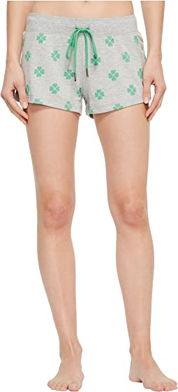 P.J. Salvage Lucky Me Printed Shorts