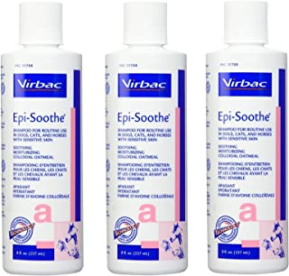 Virbac Epi-Soothe Oatmeal Shampoo, 200ml (Pack Of 3)