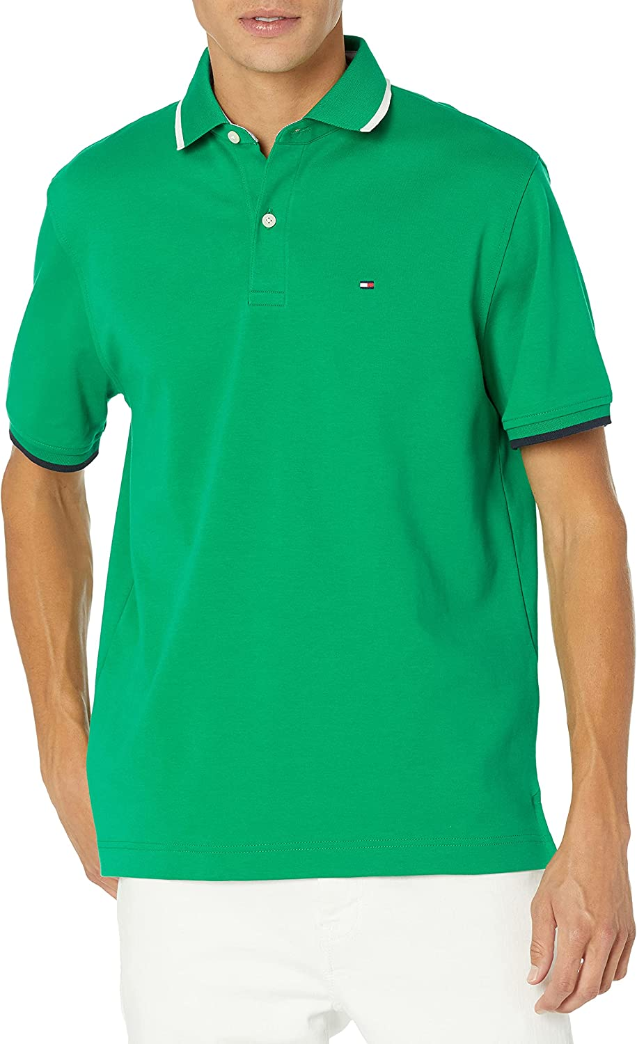 Tommy overseas Hilfiger Men's Flag Outlet sale feature Pride Fit Classic in Polo Shirt