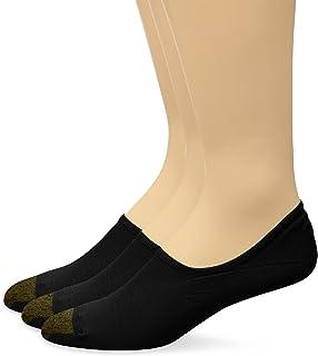 جوارب رجالية من Gold Toe مطبوع عليها The Tab No Show مقاس ممتد 3 قطع