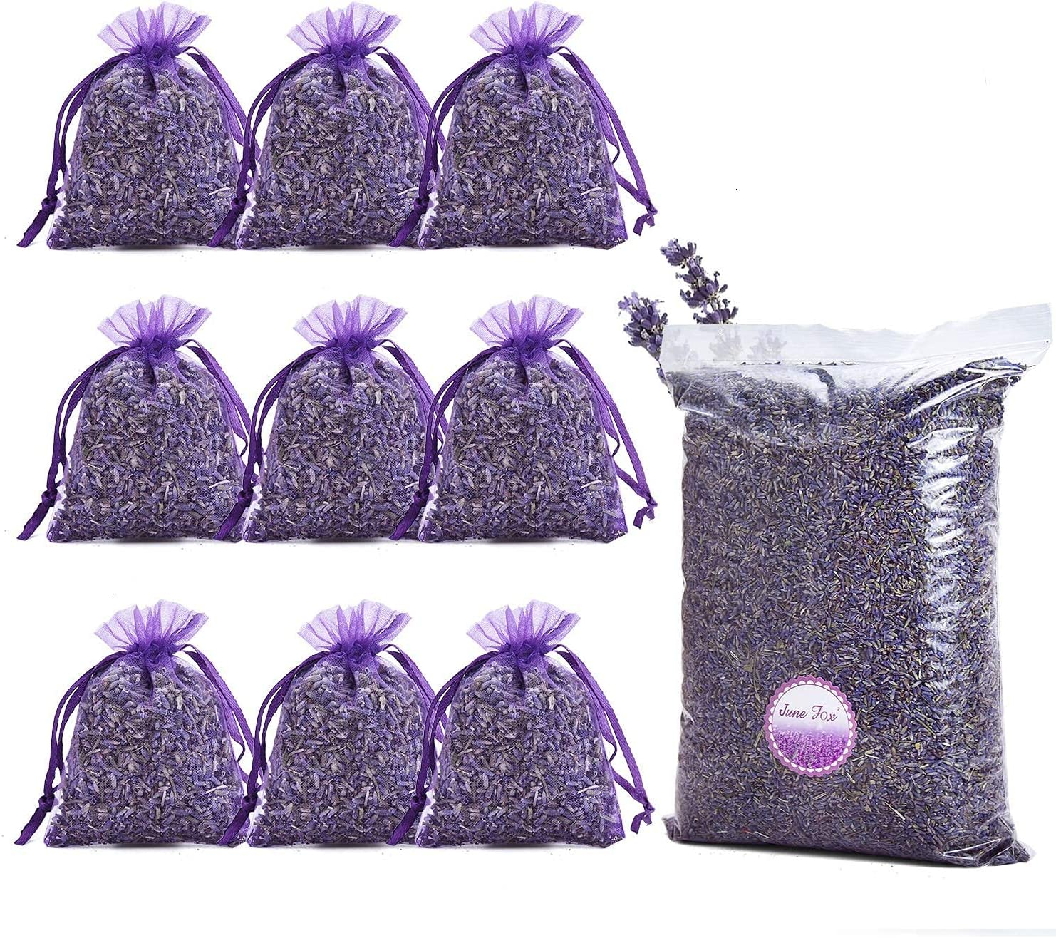 June Fox Fragrant Lavender Buds Department store Drawers Charlotte Mall Sachets F Dried