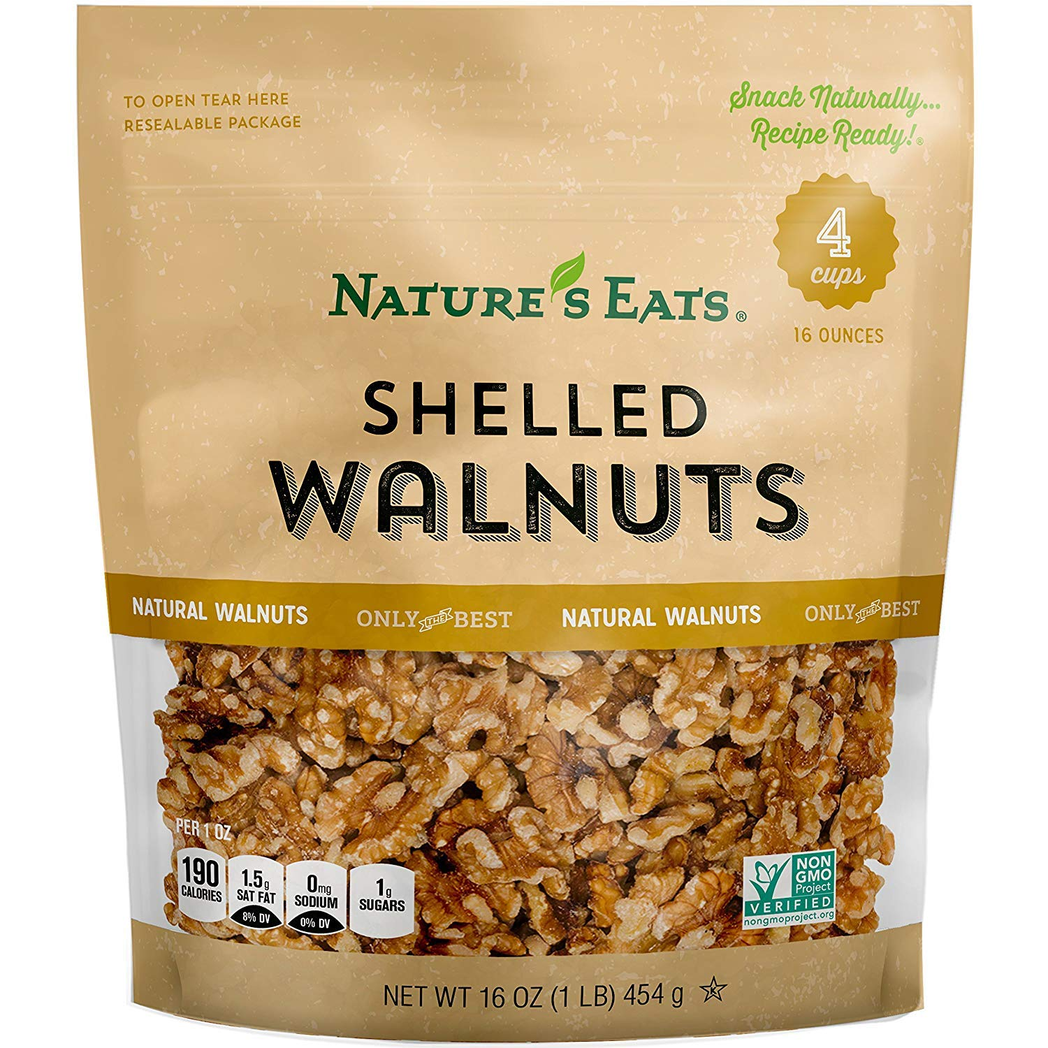 Nature's Eats Walnuts 16 Memphis Mall oz Pack Sale special price Ounce 2