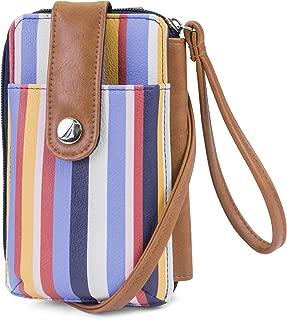 Caroline Vegan Leather RFID Womens Crossbody Phone Bag Wallet