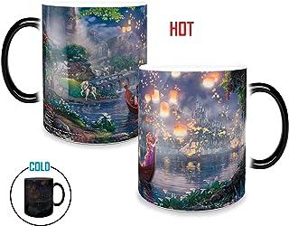 Morphing Mugs Thomas Kinkade Disney Princess Tangled Painting Heat Reveal Ceramic Coffee Mug - 11 Ounces