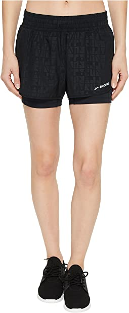 "Brooks Circuit 3"" 2-in-1 Shorts"