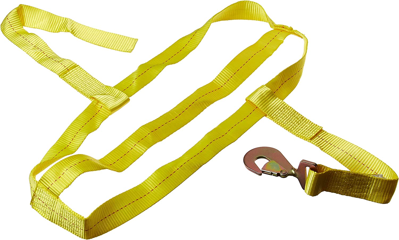 SMARTSTRAPS 850 Yellow 55% OFF 10 000 lbs Tire Down Capacity Bonnet Tie Superlatite