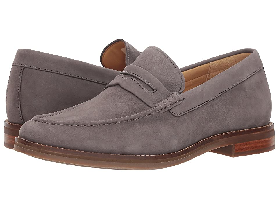 Sperry Gold Exeter Penny Loafer (Grey Nubuck) Men