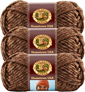 (3 Pack) Lion Brand Yarn 135-217 Hometown USA Yarn, El Paso