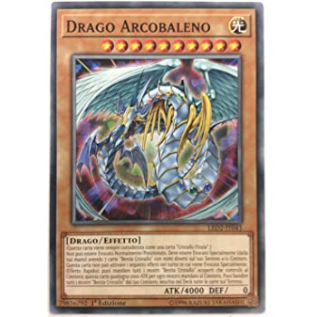 Yugioh Drago Arcobaleno RARA SEGRETA Limitata CT04-IT005 Ed