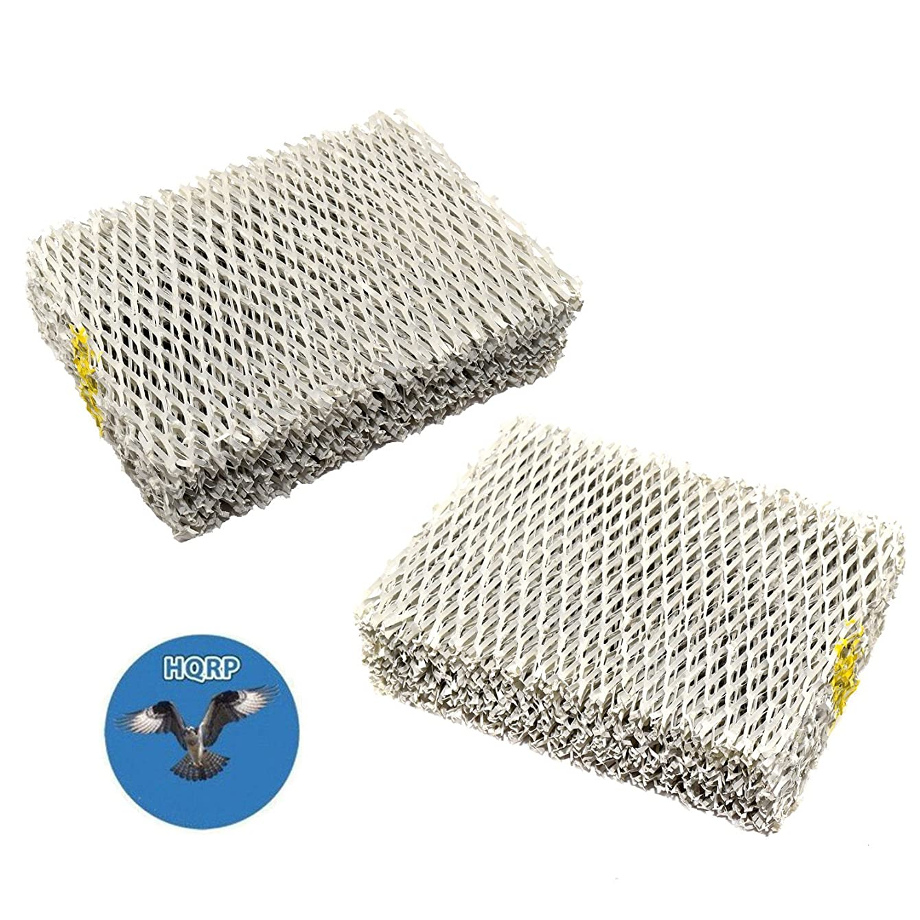 HQRP 2-pack Humidifier Wick Filter for Hunter 31941 94124 Replacement fits Hunter 33201, 33202, 33204, 33222, 33223 Humidifiers + HQRP Coaster