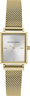 Women's Classic Japanese-Quartz Watch with Stainless-Steel Strap, Gold, 11.6 (Model: BG50907001)