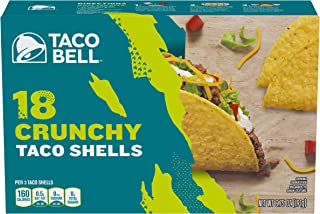 Taco Bell Crunchy Taco Shells, 18 ct - 6.75 oz Box (Pack of 12)