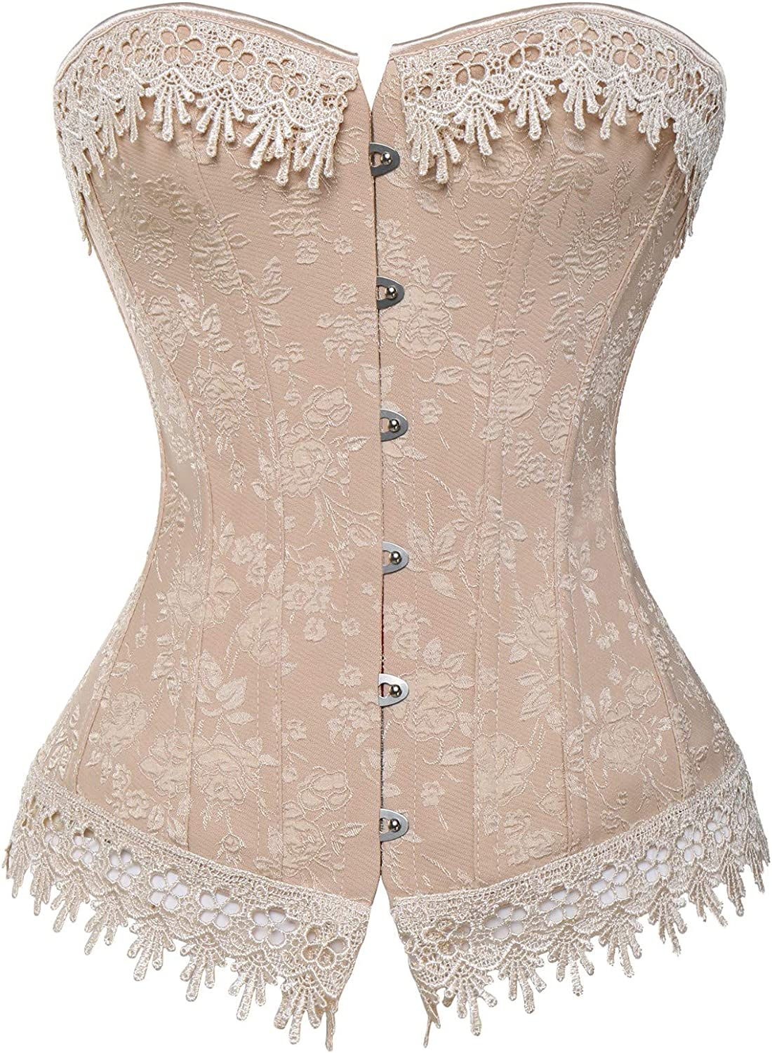 CROSS1946 Sexy Women Corsets Multi-Style Overbust Lace Up Waist