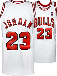 Michael Jordan Chicago Bulls Autographed 1997-98 Mitchell & Ness White Jersey - Upper Deck - Fanatics Authentic Certified
