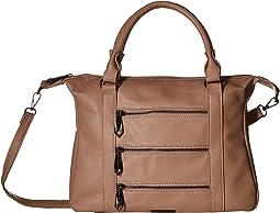 Zipper Detailed Bag, Removable Crossbody Strap